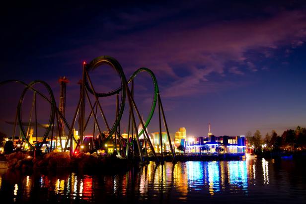 Incredible Hulk Coaster at Universal Orlando Resort