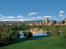The Denver Skyline: Washington Park