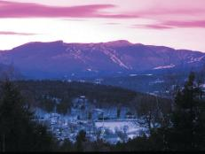 Stowe Village Sunset: Stowe Village, Vermont