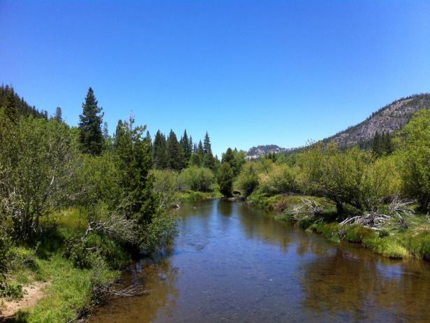 Christmas Valley, Calif., and the Truckee River
