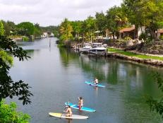 Coral Gables Homes on the Water