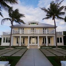 Island Home on Ocean Boulevard in Palm Beach