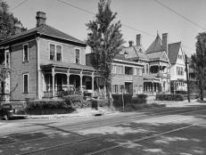 Atlanta Homes Connected by 1944 Streetcar