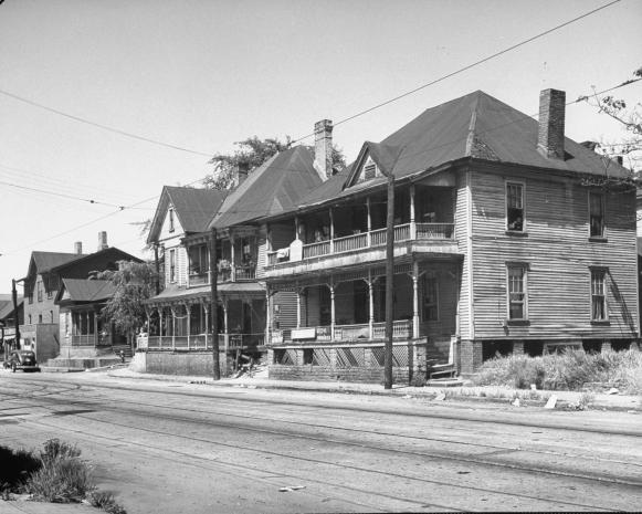 Memorial Drive in Atlanta, 1944
