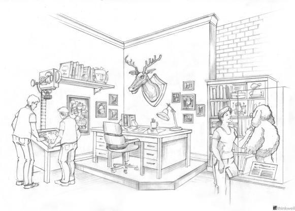 Atlanta's Center for Puppetry Arts, Jim Henson's Office