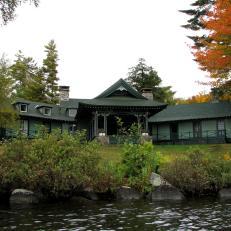 Vanderbilt's Pine Tree Point Adirondack Lodge
