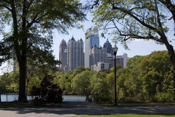 Dog-Friendly Atlanta, Piedmont Park, Midtown