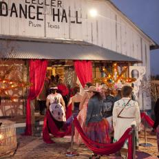 Junk Gypsy Prom Entrance at Legler Dance Hall