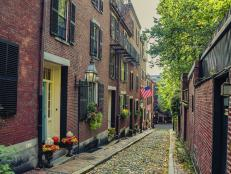 Boston's Beacon Hill Neighborhood