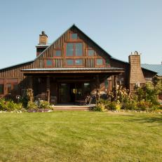 Stately Barn Turned Home