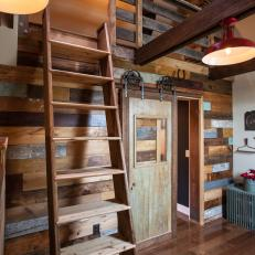 Blog Cabin 2012: Reclaimed Barnwood Door