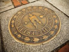 Freedom Trail in Boston, Massachusetts