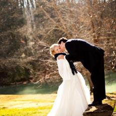 Kristen and David Wilson Tennessee Winter Wedding Photo