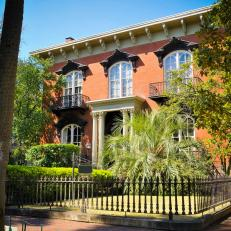The Mercer House in Savannah, Ga.