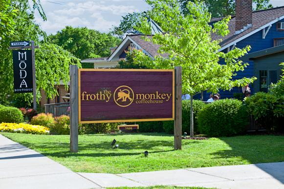 The Frothy Monkey Coffeehouse in Nashville