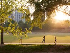 If you enjoy outdoor activities and don't mind a transient population in your neighborhood, then consider Piedmont Park as your home.