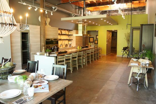 The Third Space Incorporates Kitchen and Dining