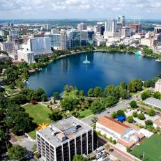 Lake Eola in Orlando, Fla.
