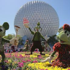 Epcot International Flower and Garden Festival 1