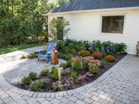 Front Entrance Garden and Landscaping