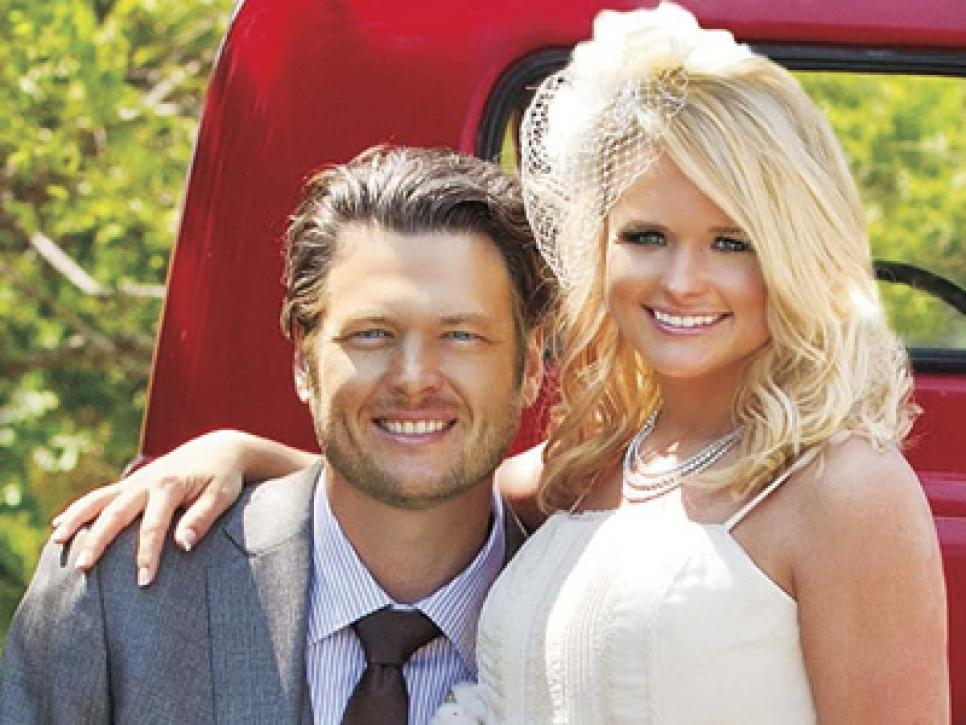 Image result for miranda lambert and blake shelton wedding