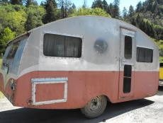 Camper Exterior Before