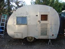 1947 Robin Hood Camper Before