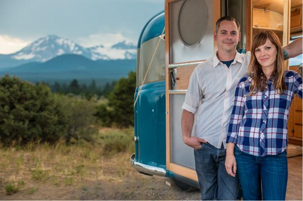 GAC: Anna and Justin Scribner restore vintage campers on Flippin' RVs