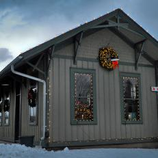 Post Office in North Pole, N.Y.