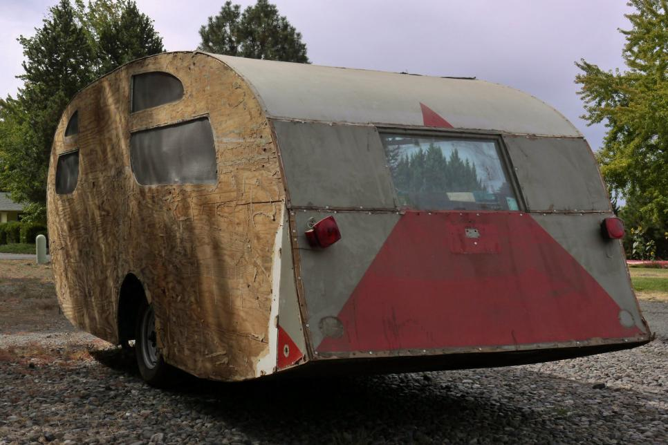 Stupendous Vintage Trailer Restorations Before And Afters Photos Download Free Architecture Designs Estepponolmadebymaigaardcom