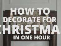 1-Hour Christmas Decorations